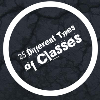 25 Different Classes