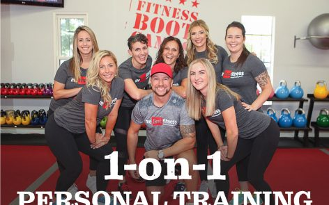 Train 1 on 1 with a Personal Trainer!